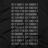 Science is Fucking Awesome (Binary Code) shirt