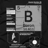 Boron t shirt (Close-Up)