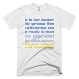 Carl Sagan - Grasp the Universe t shirt