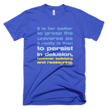 Carl Sagan - Grasp the Universe t shirt (Blue)