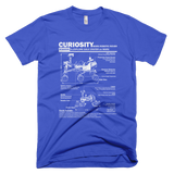 Curiosity Mars Rover t shirt (Blue)