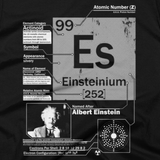 Einsteinium t shirt close-up