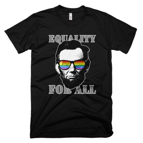 Ab Lincoln EQUALITY FOR ALL tee (Black)