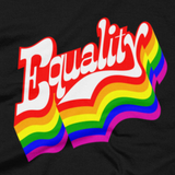 Equality t shirt close-up