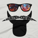 Johannes Kepler hipster t shirt close-up