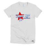 Neil deGrasse Tyson and Bill Nye for President shirt Women's (White)