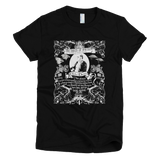 Charles Darwin Origin of Species t shirt Women's (Black)