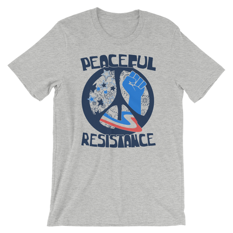 Peaceful Resistance tee shirt