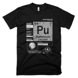 Plutonium t shirt (Black)