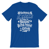 Rational Americans needed for Biggest Voter Turnout in History tee—Voting Campaign shirt