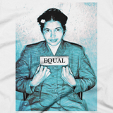 Rosa Parks t shirt - EQUAL graphic tee (close-up)
