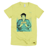 Rosa Parks t shirt - EQUAL graphic tee women's (Yellow)