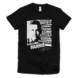 Sam Harris - Too Reasonable t shirt Women's (Black)