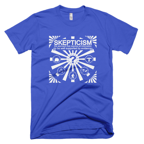 Skepticism shirt (Blue)