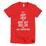 STAR TREK t-shirt - Keep Calm and Seek Out New Life and New Civilizations