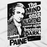 Thomas Paine - Enlightened t shirt close-up