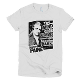 Thomas Paine - Enlightened t shirt Women's (White)
