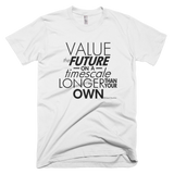 Richard Dawkins - Value the Future shirt (White)