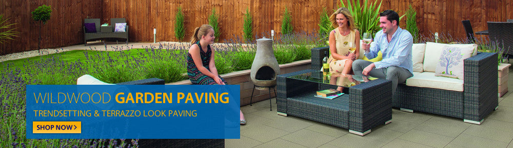 Fairstone Sawn Garden Paving.  Create unique designs with new linear sawn stone