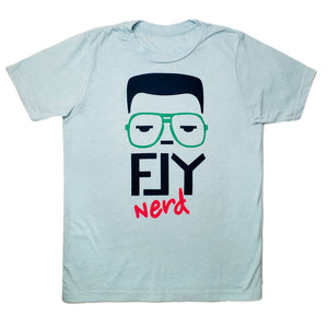 Fly Nerd 90's Nerd Youth Tee