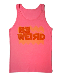 Fly Nerd Be Weird Tank