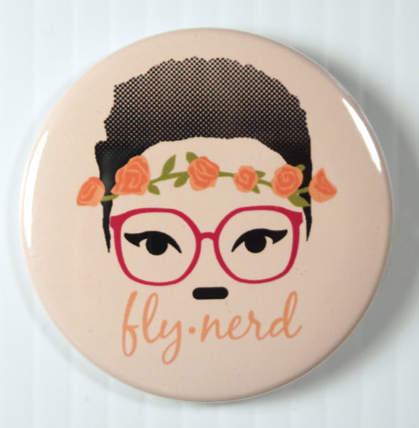 Fly Nerd Big Buttons