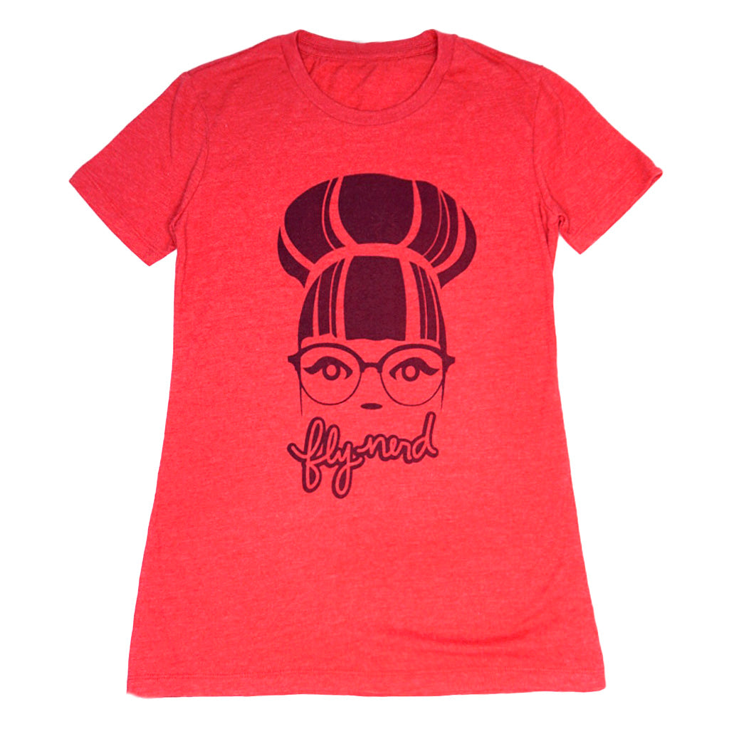 Fly Nerd Bun Girl Tee