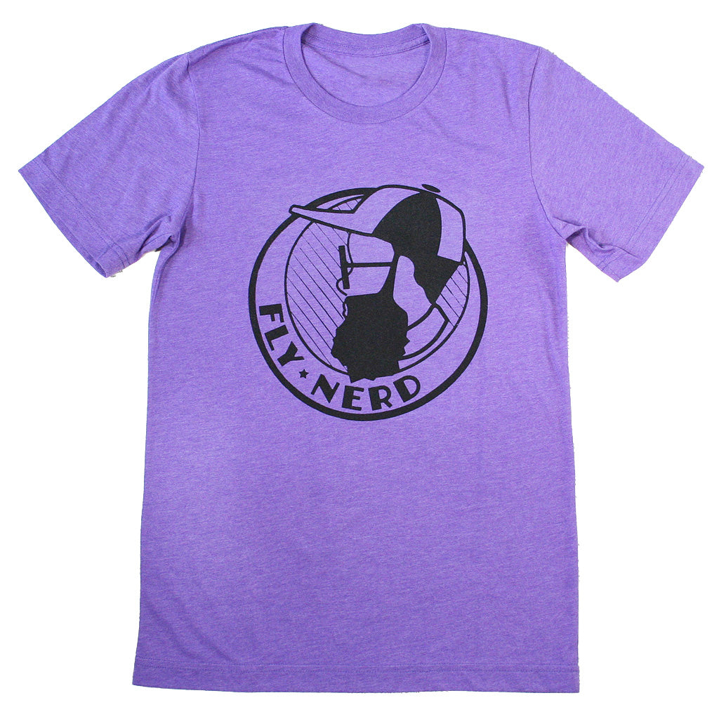 Bearded Fly Nerd Emblem Tee