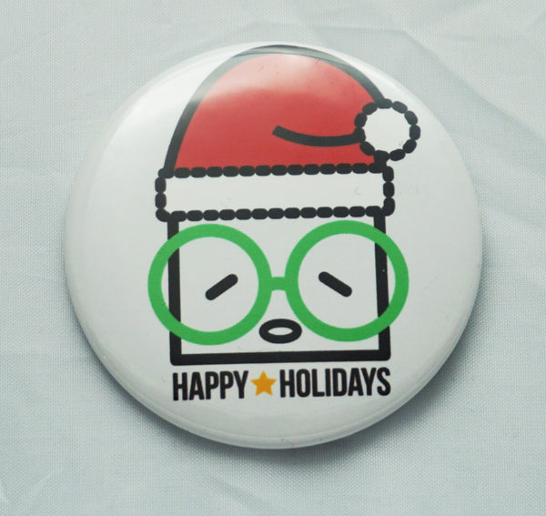 Fly Nerd Big Buttons Holiday