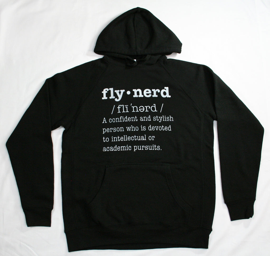Fly Nerd Definition Hoodie