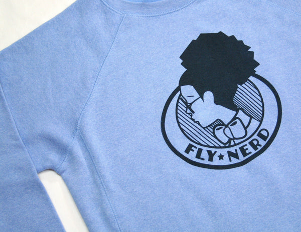 Fly Nerd Girl Emblem Sweatshirt