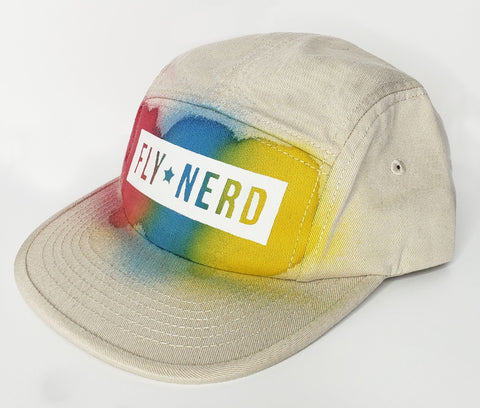Fly Nerd Painted Cap