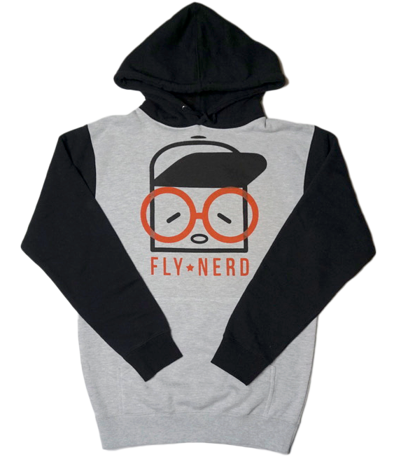 Fly Nerd Original Two Tone Hoodie