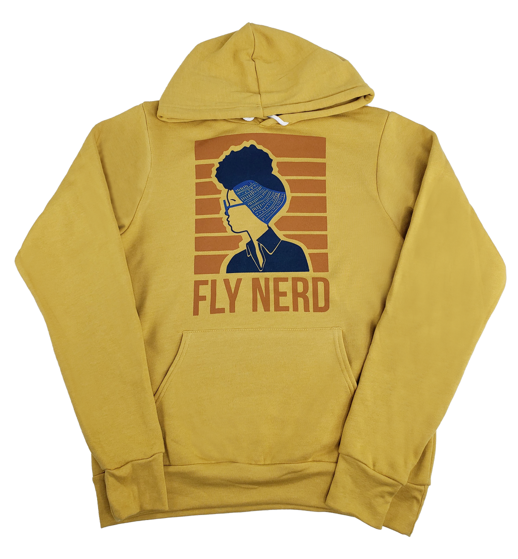 Fly Nerd Wrapped Hoodie