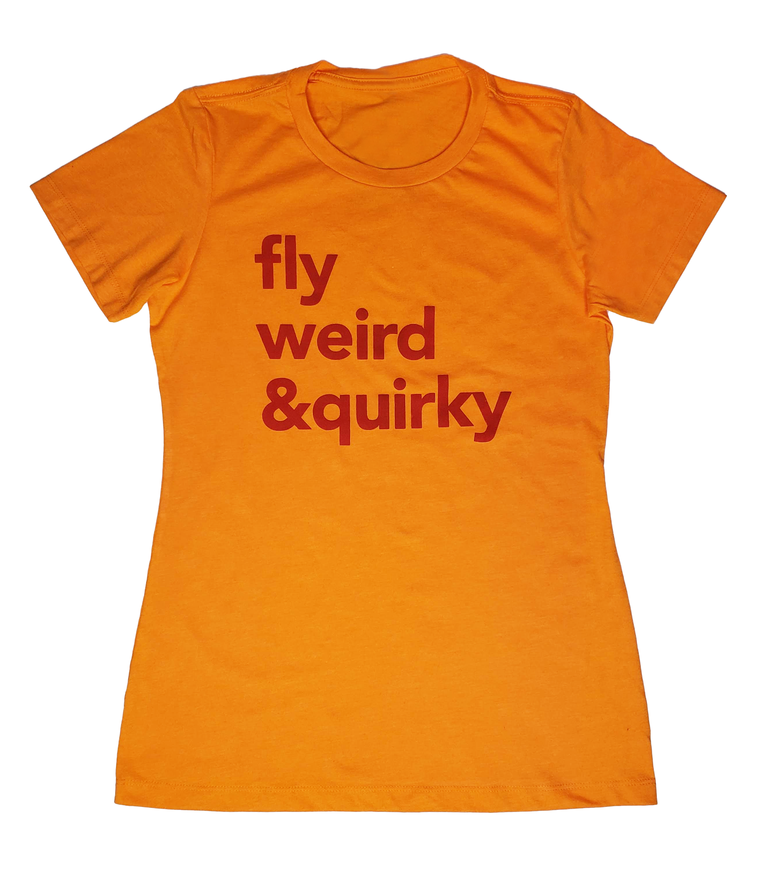 Fly Nerd Fly Weird & Quirky Ladies Tee