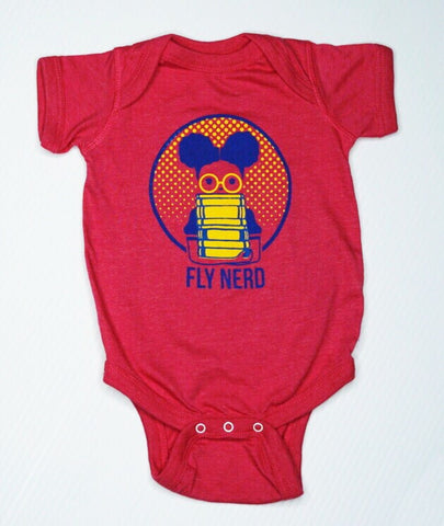Fly Nerd Bookworm Baby Bodysuit
