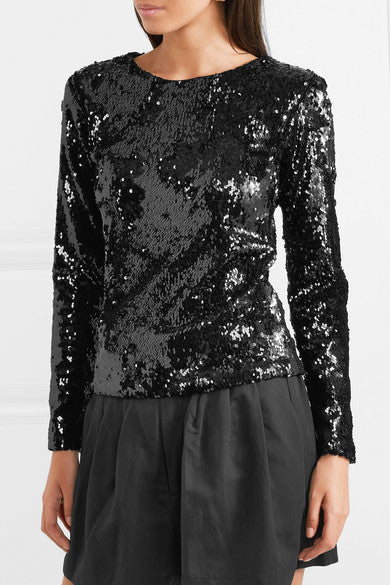 Racil 'Judy' Sequined Tulle Top