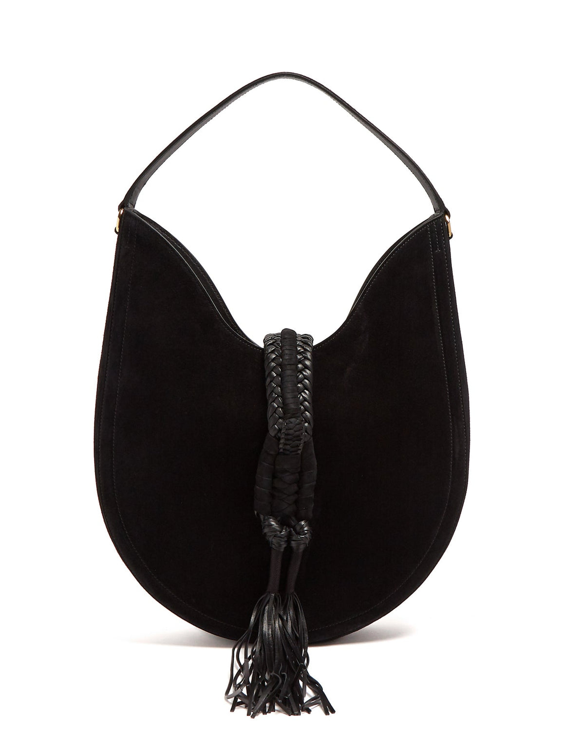 Altuzarra Ghianda Large Suede Shoulder Bag
