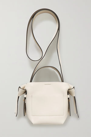 Acne Musubi Micro Knotted Leather Shoulder Bag - Current Season