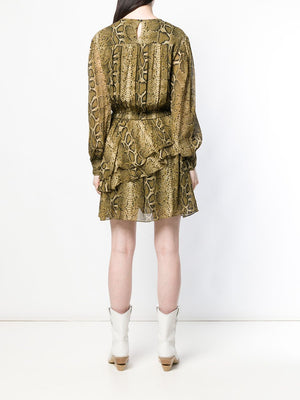 Isabel Marant Étoile Snake Print Dress