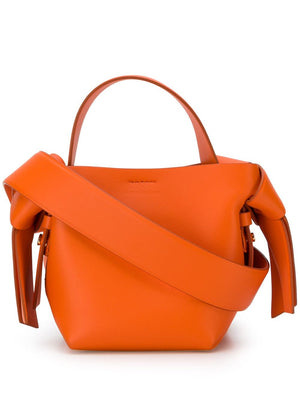 Acne Studios Musubi Micro Knotted Leather Shoulder Bag
