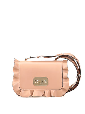 RED Valentino Rock Ruffles Crossbody Bag