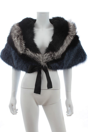Ermanno Scervino Fox Fur Stole