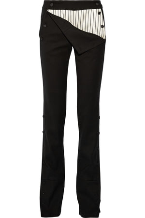 Monse Stretch Wool-Blend Pants - Runway Collection