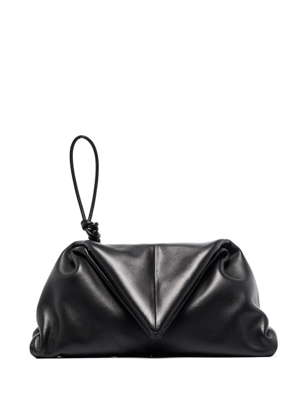 Bottega Veneta BV Trine Leather Clutch Bag - Spring '20 Runway Collection