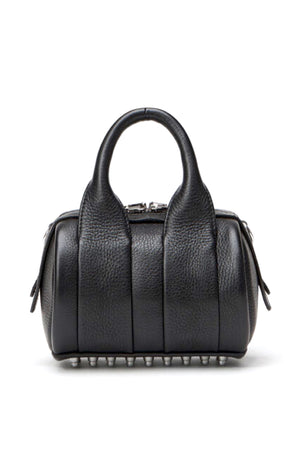 Alexander Wang Baby Rockie Pebbled Leather Bag W/Rhodium Hardware