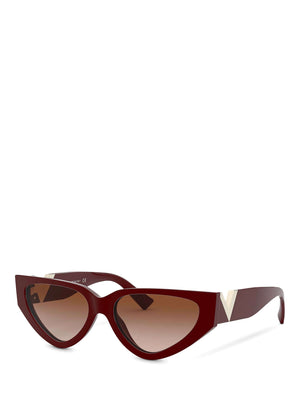 Valentino VA4063 V-Logo Cat Eye Sunglasses