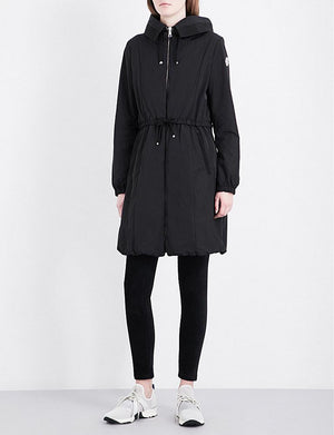 Moncler 'Tuile' Hooded Shell Coat