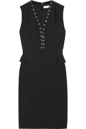 Altuzarra's 'Topi' Lace-Up Detail Peplum Dress
