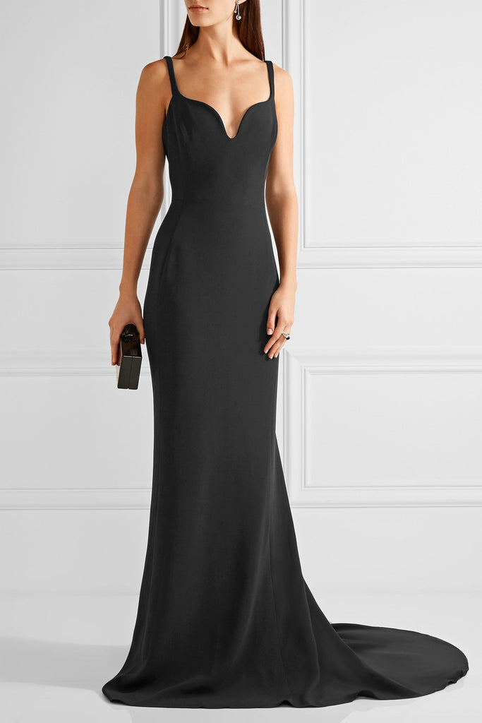 Stella McCartney 'Primrose' Stretch-Cady Gown